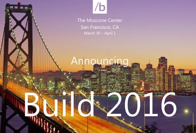 Build 2016 Microsoft Official