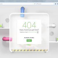 Disfruta del error 404 de la web de Android con este minijuego