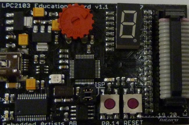 Microcontrolador electrónico