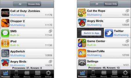 AppSwitch para conocer el estado de la memoria de tu iPhone