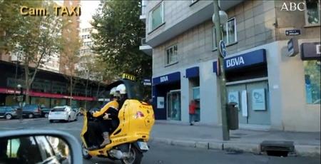 Mototaxi Vs taxi por Madrid, ¿quién ganará?