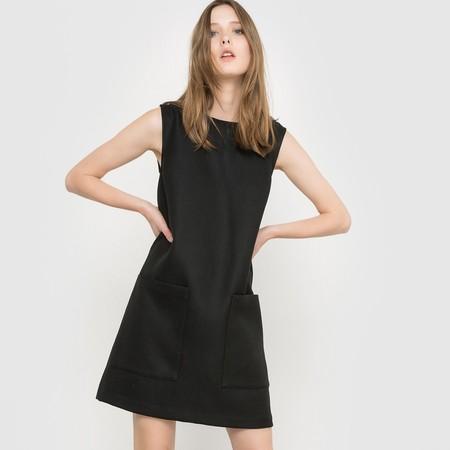 Vestido Evase Negro