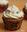 Cupcakes de vainilla con frosting de coco. Receta