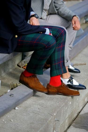 Las seis reglas para combinar tus calcetines como dios manda (II)