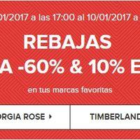 60% de descuento en las rebajas en Sarenza con envío gratis. 10% extra en Geox, Georgia Rose, Timberland y New Balance