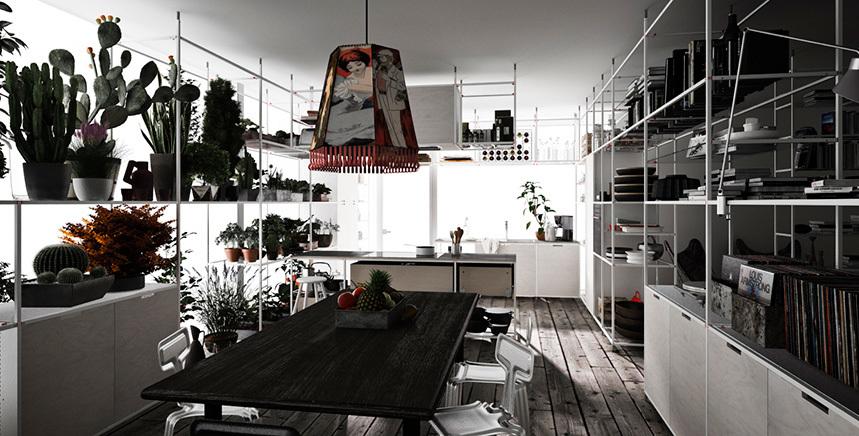 Foto de Meccanica, un sistema de almacenaje muy versátil y minimalista (13/21)