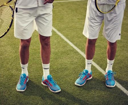 La clásica zapatilla de K-Swiss también se llama Hypercourt