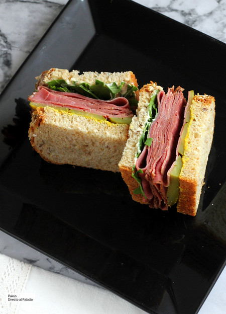 Sandwich De Pastrami Recetas De Picnic Originales