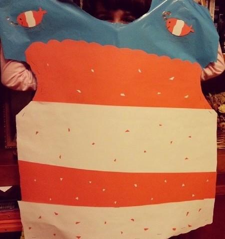 Carnaval 2014: cómo hacer un disfraz de pez payaso para niños