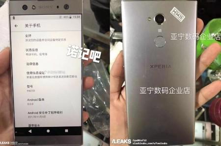 El Sony Xperia XA2 Ultra se deja ver en una foto real: diseño continuista con muchos marcos y doble cámara frontal