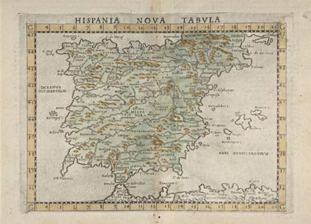 Hispania Nova Tabula 1574
