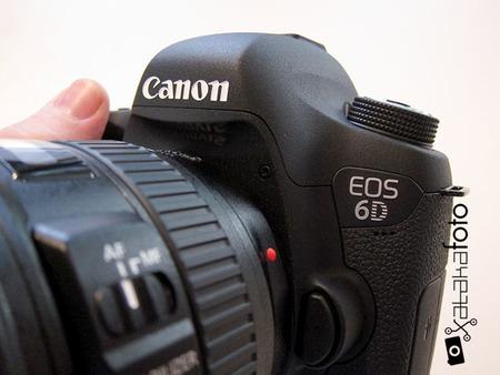 Canon EOS 6D, toma de contacto