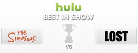 """""""Lost Vs. Simpsons"""", Hulu busca la mejor serie de televisión actual"""