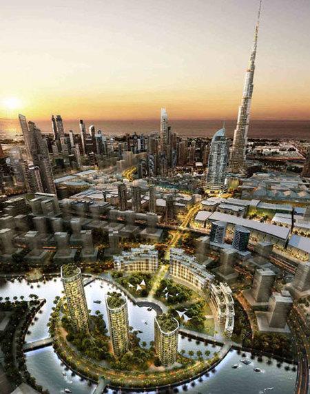 """Mohammad Bin Rashid City, el nuevo proyecto de construcción """"a lo Dubai"""" en Dubai"""