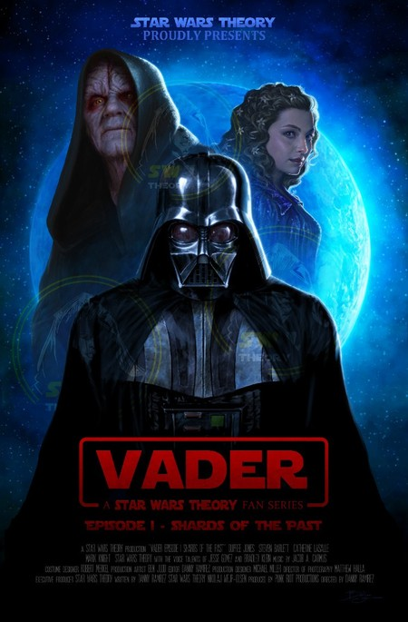 Vader A Star Wars Theory Fan Film Watermarked Poster Darth Vader
