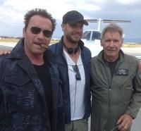 Harrison Ford ya es un mercenario, la imagen de la semana