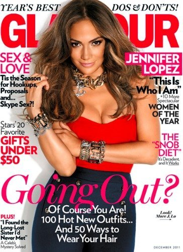 Jennifer Lopez, el divorcio rejuvenece en la portada de Glamour