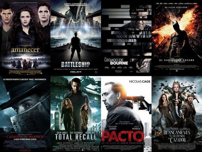 Algunas de las peores películas que se han estrenado en 2012