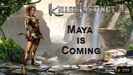 Maya aparecerá en la nueva temporada de Killer Instinct