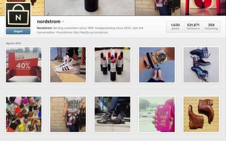 Nordstrom Mobile Instagram Shopping