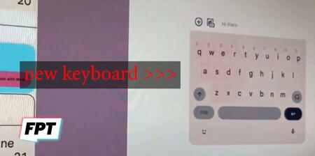 Android12 Teclado