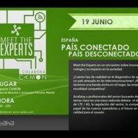 """Meet the Experts """"España país conectado, país desconectado"""": síguelo en directo aquí #MTEconectados"""