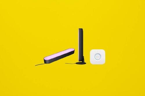 Monta tu setup gaming o pon Ambilight en tu smart TV con el starter kit Philips Hue Play de oferta a 149 euros en PcComponentes