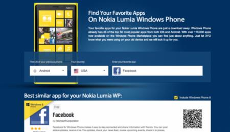 Encuentra en Windows Phone las aplicaciones que usas en iOS y Android