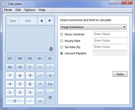 Foto de Calculadora Windows 7 (9/10)