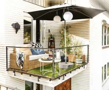 """Tu terraza """"mini"""" tiene más potencial de lo que te imaginas y Pinterest nos lo demuestra con estilo"""