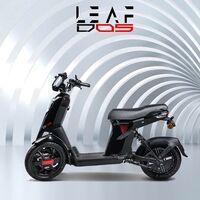 El Leaf D05 es el nuevo triciclo eléctrico de ruedas inversas, con batería extraíble y 70 km de autonomía, por 2.600 euros