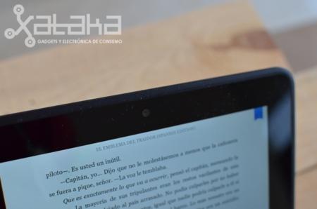 Kindle Fire HD análisis cámara web