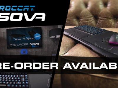 Teclado para el jugador de salón o teclado sin marco, echad un vistazo a lo nuevo de Roccat