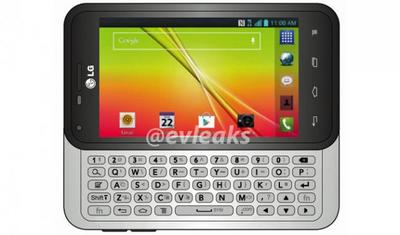 El teclado físico podría revivir con el LG F3Q