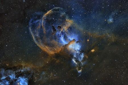 Sn 20348 1 Statue Of Liberty Nebula C Martin Pugh