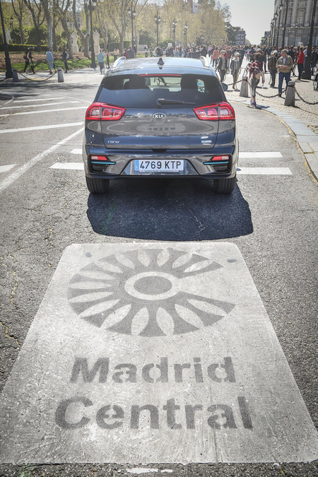 Kia e-Niro Madrid Central