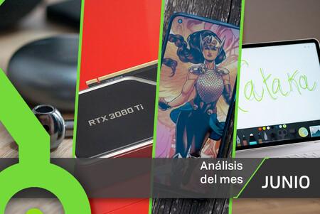 Los 19 análisis de junio de Xataka: 5 móviles, 3 tablets, auriculares TWS y todas nuestras reviews con sus notas