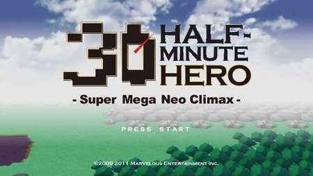'Half-Minute Hero: Super Mega Neo Climax'. Tráiler e imágenes para salvar el mundo en 30 segundos