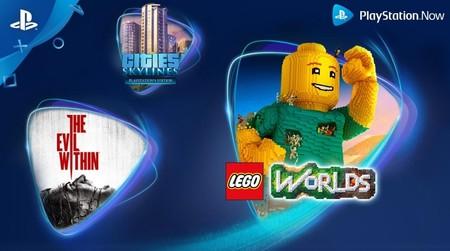 The Evil Within, LEGO Worlds y Cities: Skylines son los juegos que llegan a PlayStation Now en febrero