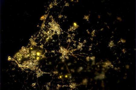 Países Bajos, fotografía usando Nightpod (credit: ESA/NASA)