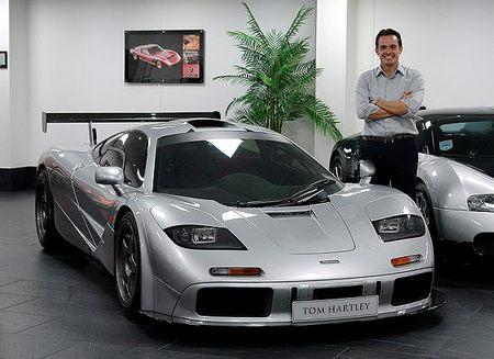 McLaren F1 vendido en UK por 3,5 millones de libras