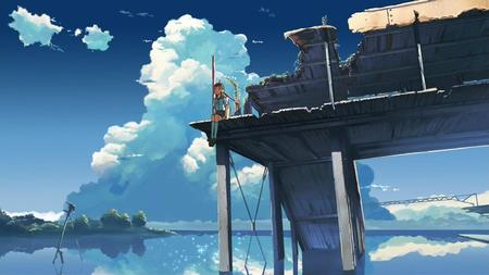 Makoto Shinkai El Lugar Que Nos Prometimos