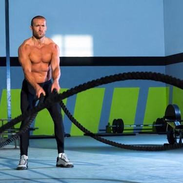 Battle Ropes: entrena tu abdomen y quema grasas trabajando con cuerdas