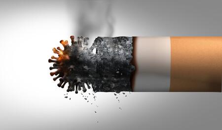 Tabaco con virus