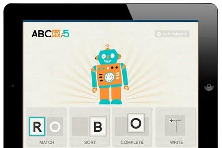 Con ABCKit for 5 los más pequeños pueden empezar a trabajar la lectoescritura en el iPad