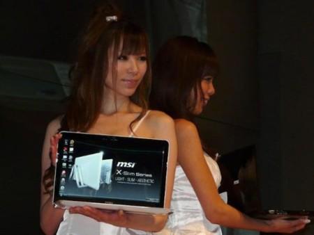 MSI X-Slim X400, ultradelgado y con pantalla de 14 pulgadas