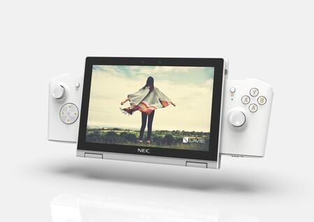 LAVIE MINI: este mini PC tiene un Core i7, gráficos Intel Xe de nueva generación, pantalla de 8 pulgadas y hasta mandos acoplables