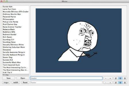 iMakeMemes, generador gratuito de memes en tu Mac