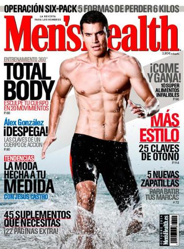 ¡Ay Omá! Alex González en Men's Health...