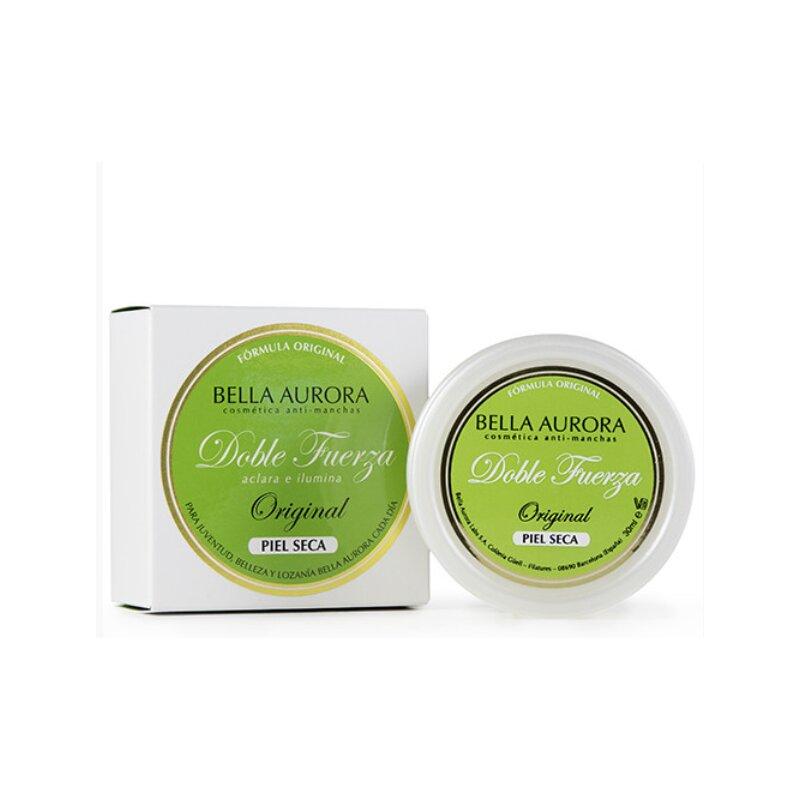 Bella Aurora Anti-Manchas Crema Clásica Piel Seca Noche, Quitamanchas Facial, Codos y Rodillas, Despigmentante Facial Manchas Piel, Doble Fuerza